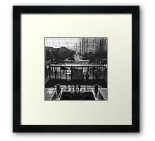City Mall Framed Print