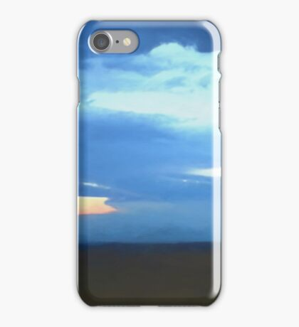 Late Summer Stormy Sky iPhone Case/Skin