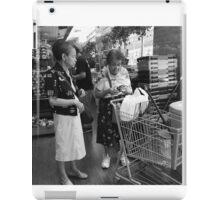 Shopping Companion iPad Case/Skin
