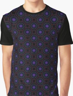 Fireworks (Electric Blue) Graphic T-Shirt