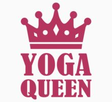 Yoga Queen by Designzz