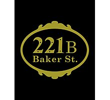 221B Baker Street copy Photographic Print