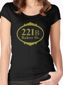 221B Baker Street copy Women's Fitted Scoop T-Shirt
