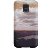 Caroga Lake - View from Kane Mountain - Edit Samsung Galaxy Case/Skin