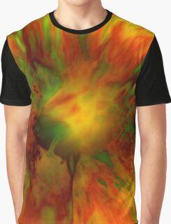 Citrus Splash Graphic T-Shirt