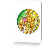 Day Dreaming Greeting Card