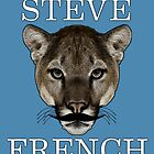 Steve French Tiger Stache  by BrodieLeigh