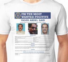 Wanted By FBI Unisex T-Shirt