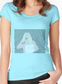 A Picture is Worth 1,004 Holds Women's Fitted Scoop T-Shirt