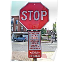 STOP - THEN START Poster