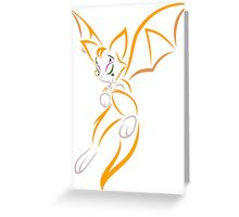 Fidget!? Greeting Card