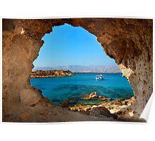 Window to the Libyan Sea Poster