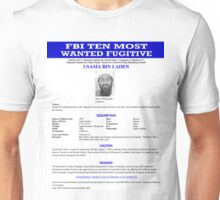 Wanted Unisex T-Shirt