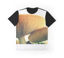 Mushrooms Down Under Graphic T-Shirt