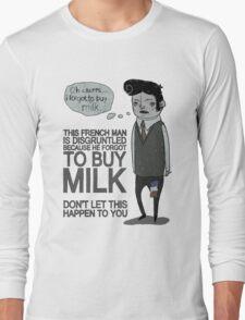 MILK Long Sleeve T-Shirt