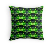 Rosey Green (VN.103) Throw Pillow