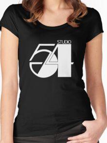 Studio 54 Women's Fitted Scoop T-Shirt
