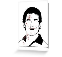 The Butcher / Psycho / Analyst Greeting Card