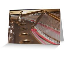music piano Greeting Card