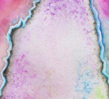 Rainbow Geode Crystal Sticker