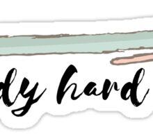 Study Hard #trending #motivation Sticker