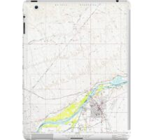 USGS TOPO Map Arizona AZ Parker 312780 1970 24000 iPad Case/Skin