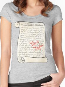 Include Women in the Sequel Women's Fitted Scoop T-Shirt