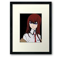 Makise Kurisu (Steins Gate) Framed Print