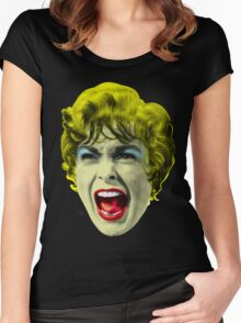 Psycho (1960 film) by Alfred Hitchcock Women's Fitted Scoop T-Shirt