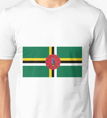 Dominica Flag Unisex T-Shirt