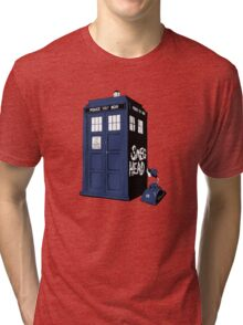 BAD-SMEG-HEAD Tri-blend T-Shirt