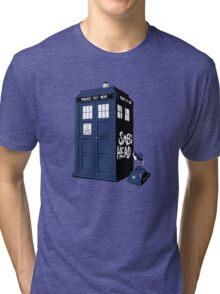 BAD-SMEG-HEAD Tri-blend T-Shirt