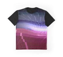 80s Style Modern Glitch Art Graphic T-Shirt