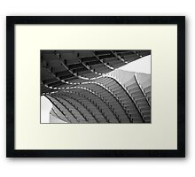 Seville - Black And White Metropol Parasol Framed Print
