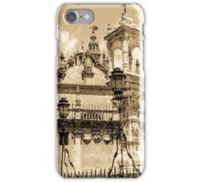 Seville - Detail from Plaza del Triunfo iPhone Case/Skin