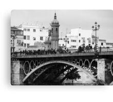 Bridge Isabel II - Seville Canvas Print