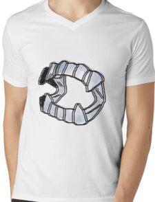 Vampire Fangs Mens V-Neck T-Shirt