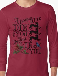 A Hound's Words Long Sleeve T-Shirt