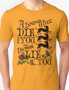 A Hound's Words Unisex T-Shirt