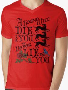 A Hound's Words Mens V-Neck T-Shirt