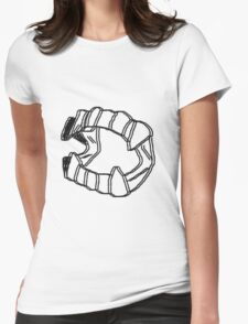 Vampire Fangs v.2 Womens Fitted T-Shirt
