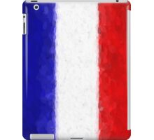 Blue White and Red iPad Case/Skin