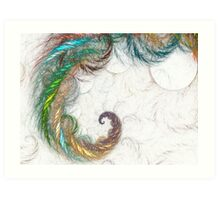 abstract color Art Print