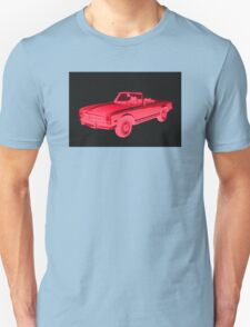 Mercedes Benz 280 SL Convertible Modern Art T-Shirt