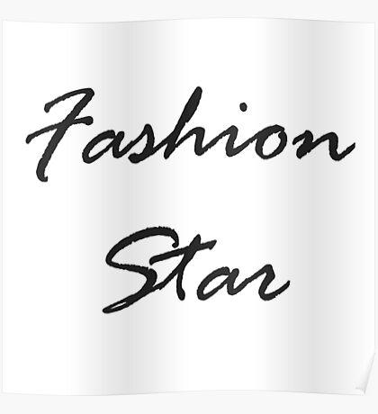 Fashion Star Poster