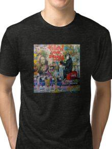 Follow your dreams - graffiti design Tri-blend T-Shirt