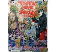 Follow your dreams - graffiti design iPad Case/Skin