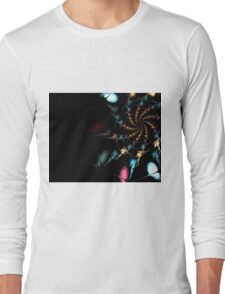abstract color Long Sleeve T-Shirt