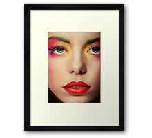 perfect skin Framed Print