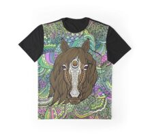 Colouring Book Horse 05 Graphic T-Shirt